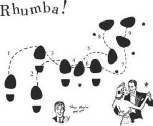 rhumba dance steps